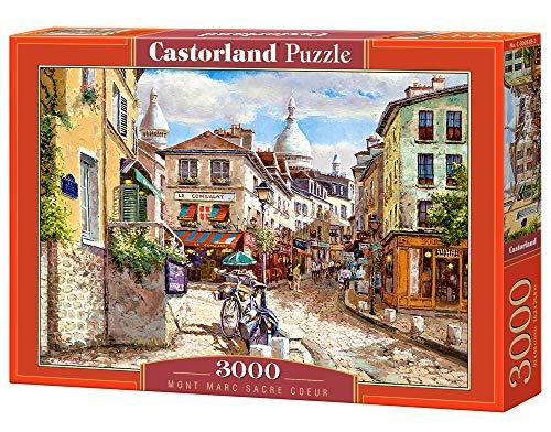 Castorland C-300518-2 Mont Marc Sacre Coeur, 3000 Teile Puzzle, bunt