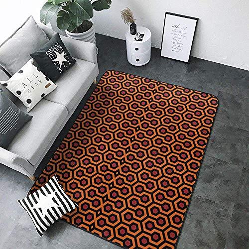 Soft Area Rug 5 x 7, The Shining Overlook Hotel Boden Teppich Matte 80 x 58 Zoll für Wohn- / Schlafzimmer/Spielzimmer Home Decor