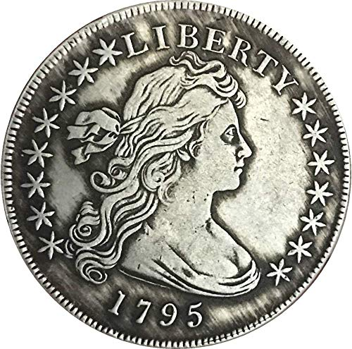 DDTing Best Morgan Silber-Dollar-Münze zum Sammeln von Silber-Dollar, USA altes Original Pre Morgan Dollar GoodService