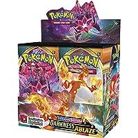 カード 32.4PCS / 360PCS GXメガ輝くポケモンカードゲームバトルメタルカルテトレーディングカードゲーム子供のポケモンのおもちゃ おもちゃ (Color : 324 DARKNESS ABLAZE)