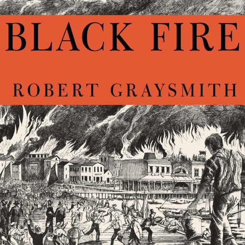 Black Fire audiobook cover art