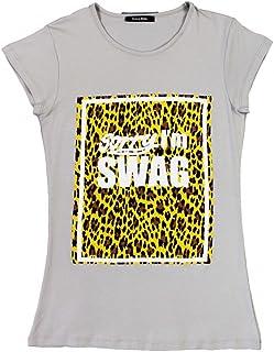100% authentic 80662 cf290 Amazon.it: NONAME - Grigio / T-shirt, polo e camicie / Uomo ...