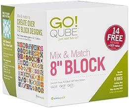 AccuQuilt GO! Qube Mix & Match 8