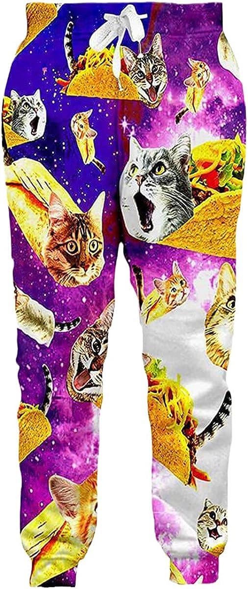 Funny Animals 3D Printing Men's Jogging Pants Streetwear Cool Unisex Casual Sweatpants