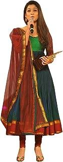 1 Stop Fashion Women's Silk Anarkali Salwar Suit Set