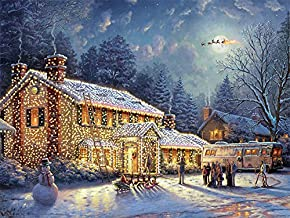 Ceaco Thomas Kinkade National Lampoon's Christmas Vacation Jigsaw Puzzle (300 Pieces)