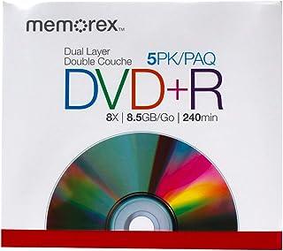 Memorex 8.5GB 8X Double Layer DVD+R (5 Pack)