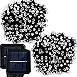 Lemontec Solar String Lights, 200 Led Holiday String Lighting Outdoor...