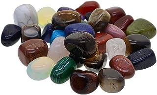 Kyeygwo Top perc/é pouce Pierre Pendentifs pour Unisexe Pierre Pack of 3 Lot de 3 Poli Worry Stone//Palm Pierre Pendentifs pour fabrication de bijoux Amethyst