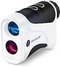 PEAKPULSE 6S Golf Rangefinder، Golf Laser Range Finder با فناوری خرید پرچم ، ارتعاش پالس ، اسکن و سیستم فوکوس سریع ، ایده آل برای گلف بازان تمام توانایی ها.