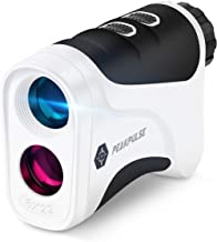 PEAKPULSE Golf Laser Rangefinder with Slope-Switch Technology, PinSeeker with JOLT Technology and Fast Focus System, Perfect for Choosing The Right Club.