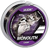 Jaxon Angelschnur Monolith CARP 0,25-0,35mm/600m Spule Monofil Karpfen Schnur (Ø 0,325mm /...