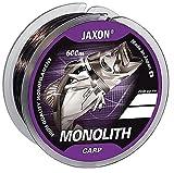 Jaxon Hilo de pesca Monolith Carp 0,25-0,35 mm/600 m, bobina monofilamento (0,30 mm de diámetro, capacidad de carga de 18 kg)