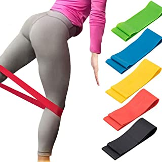Unisex Yoga Pilates Resistance Bands Home Gym Travel Portable Fit Fitness Yoga Stretchy Bands Leg Exercise Workout Band