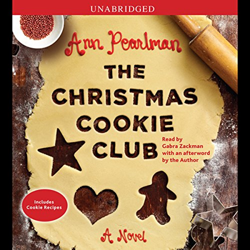 The Christmas Cookie Club audiobook cover art