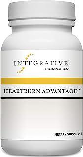 Integrative Therapeutics - Heartburn Advantage - Helps Reduce Occasional Heartburn, Bloating, and Nausea - 60 Capsules