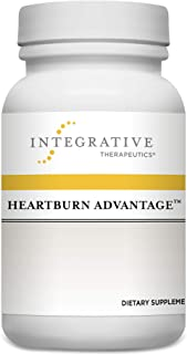 Integrative Therapeutics - Heartburn Advantage - Helps Reduce Occasional Heartburn, Bloating, and Nausea - 60 Capsules