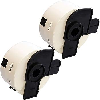 Nastro in Carta Etichetta per rotolo: 400 Compatibile Rotolo DK-11208 38mm x 90mm Etichette adesive per Brother P-Touch QL-500 550 560 570 700 710W 720NW 800 810W 820NWB 1050 1060N 1100 1110NWB