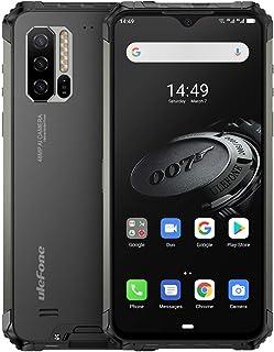 Ulefone Armor 7E防水頑丈なスマートフォンロック解除、頑丈なスマートフォンAndroid 9.0 6.3インチHelio P90 4GB + 128GB FHD 48MP + 16MP 5500Mahバッテリーワイヤレス充電、顔I...