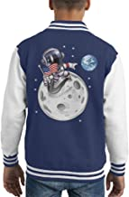Cloud City 7 Here First USA Astronaut Kid's Varsity Jacket