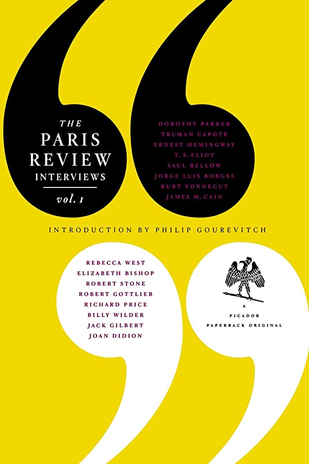 バット追い付く釈義The Paris Review Interviews