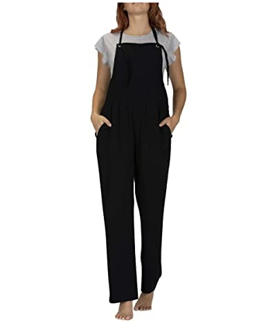 Hurley Mellow Jumpsuit (Black) Women