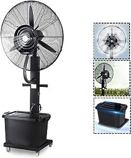 Ventilador de fábrica móvil Ventilador industrial Ventilador Ventilador de aire frío Ventilador eléctrico Ventilador de nebulización Ventilador de suelo vibratorio Humidificador para venta minorista