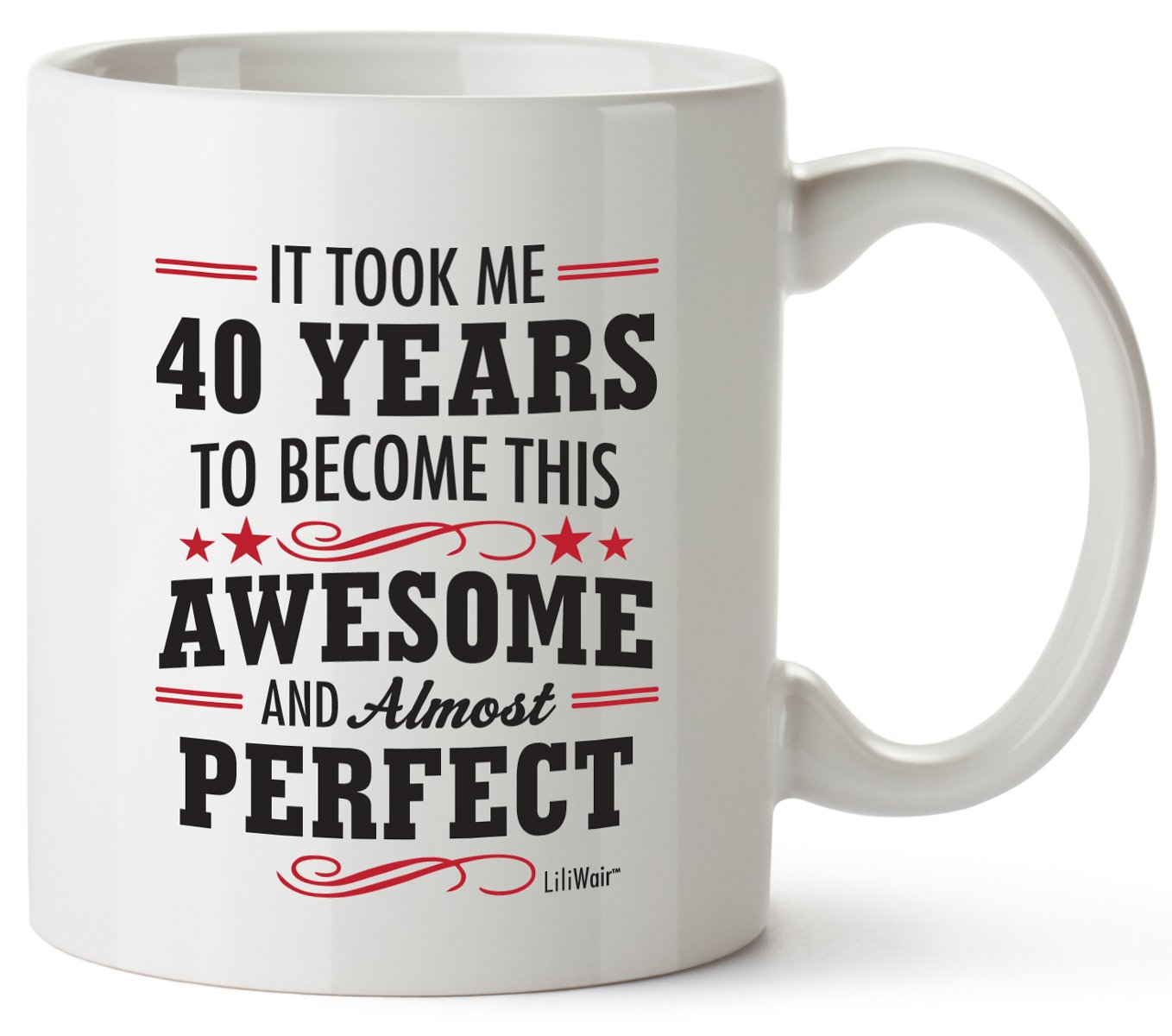 40th Birthday Gifts For Women Forty Years Old Men Gift Mugs Happy Funny 40 Mens Womens  sc 1 st  Amazon.com & 40th Birthday Gifts for Wife: Amazon.com