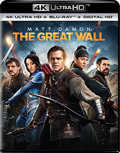 The Great Wall [4K UHD + Blu-Ray + Digital] $9.99 - $9.99