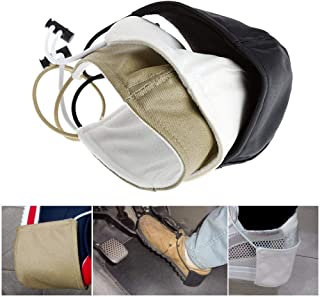 1Pc Fabric Car Driving Prevent Wear Shoes to Protect The Roots Heel Protection Cover Unisex Black/Khaki/White C45