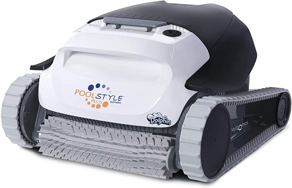 Dolphin maytronics poolstyle ag plus digital, robot automatico pulitore per piscina,fondo e pareti 3661145510686