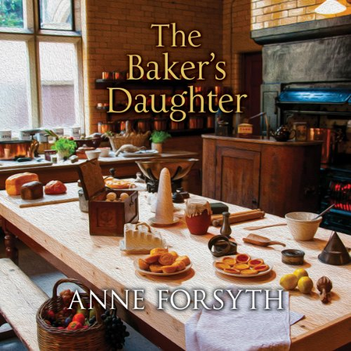 The Baker's Daughter audiobook cover art