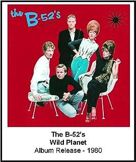 The B-52's 1980 Wild Planet Album Cover 3