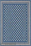 TEJIDOS EL MUNDO Alfombra Azul 120x170 cm Natura 49142