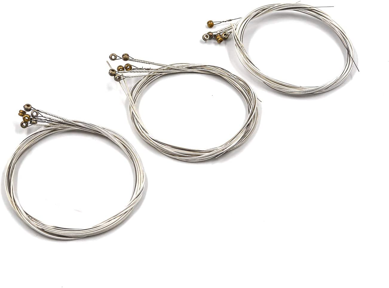 Geesatis 3PCS Same day shipping Guitar Strings Replacement Award Steel Acous for