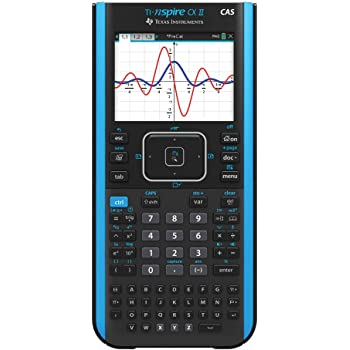 Amazon Com Texas Instruments Ti Nspire Cx Ii Cas Color Graphing Calculator With Student Software Pc Mac Electronics