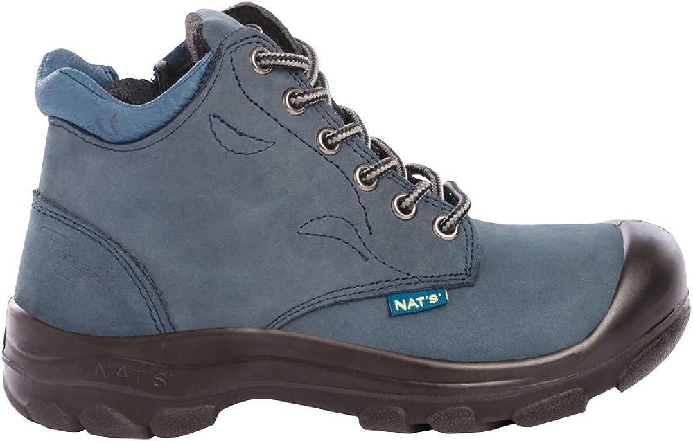 P&F Workwear Women's Steel Toe Work Boots | Marine | 6