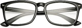 Classic Clear Glasses for Women Men Square Frame Eyeglasses Non-prescription Eyewear