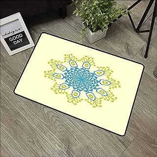 GUUVOR Front Door mat Carpet Machine Washable Door mat W31.5 x L47.2 Inch,