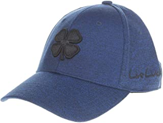 Black Clover Lucky Heather Cobalt Fitted Hat, Large/X-Large Blue