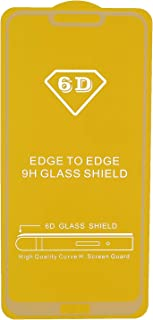 6D Glass Screen Protector for Huawei Honor 8C, White