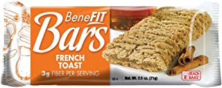 Readi Bake Benefit Bar French Toast, 2.5 Ounce -- 48 per case.