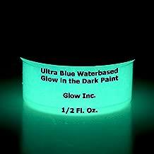 Ultra Blue Glow in the Dark Paint 1/2 Fluid Ounce