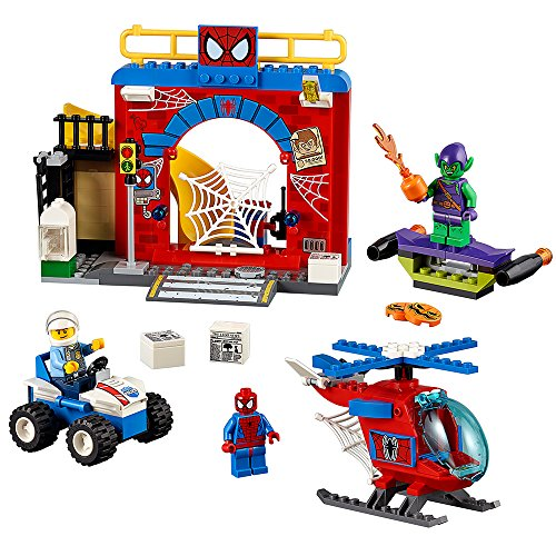 LEGO Juniors 10687 Spider-Man Hideout Building Kit by LEGO Juniors