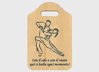 Idea regalo maestra di ballo o ballerina con frase personalizzabile Tagliere decorativo da appendere
