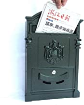 Mailbox Postbox Wandgemonteerde brievenbus Outdoor Retro Villa Inbox (Kleur: C)