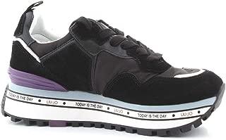 LIU JO Luxury Fashion Womens BXX051PX07122222 Black Sneakers | Fall Winter 19
