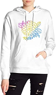 VJJ AIDEAR Pan Sexual Women's Sweater Printed Hoodied Long Sleeve Coat