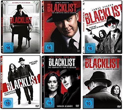 günstig Blacklist Staffel 1-6 (1 + 2 + 3 + 4 + 5 + 6, 1-6) [DVD Set] Vergleich im Deutschland
