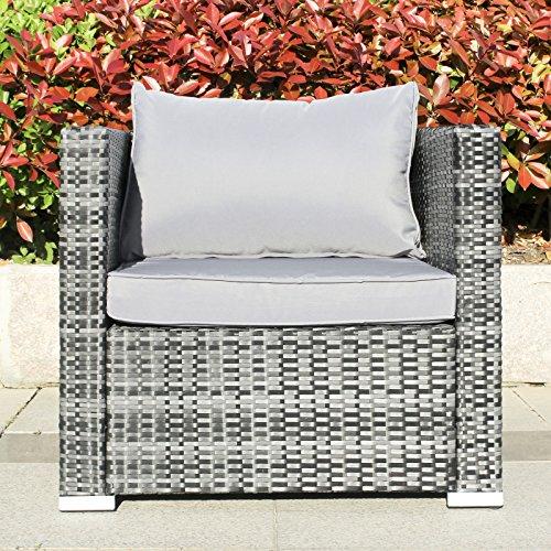 Hansson Polyrattan Gartenmöbel Lounge Set Sitzgruppe Bild 3*